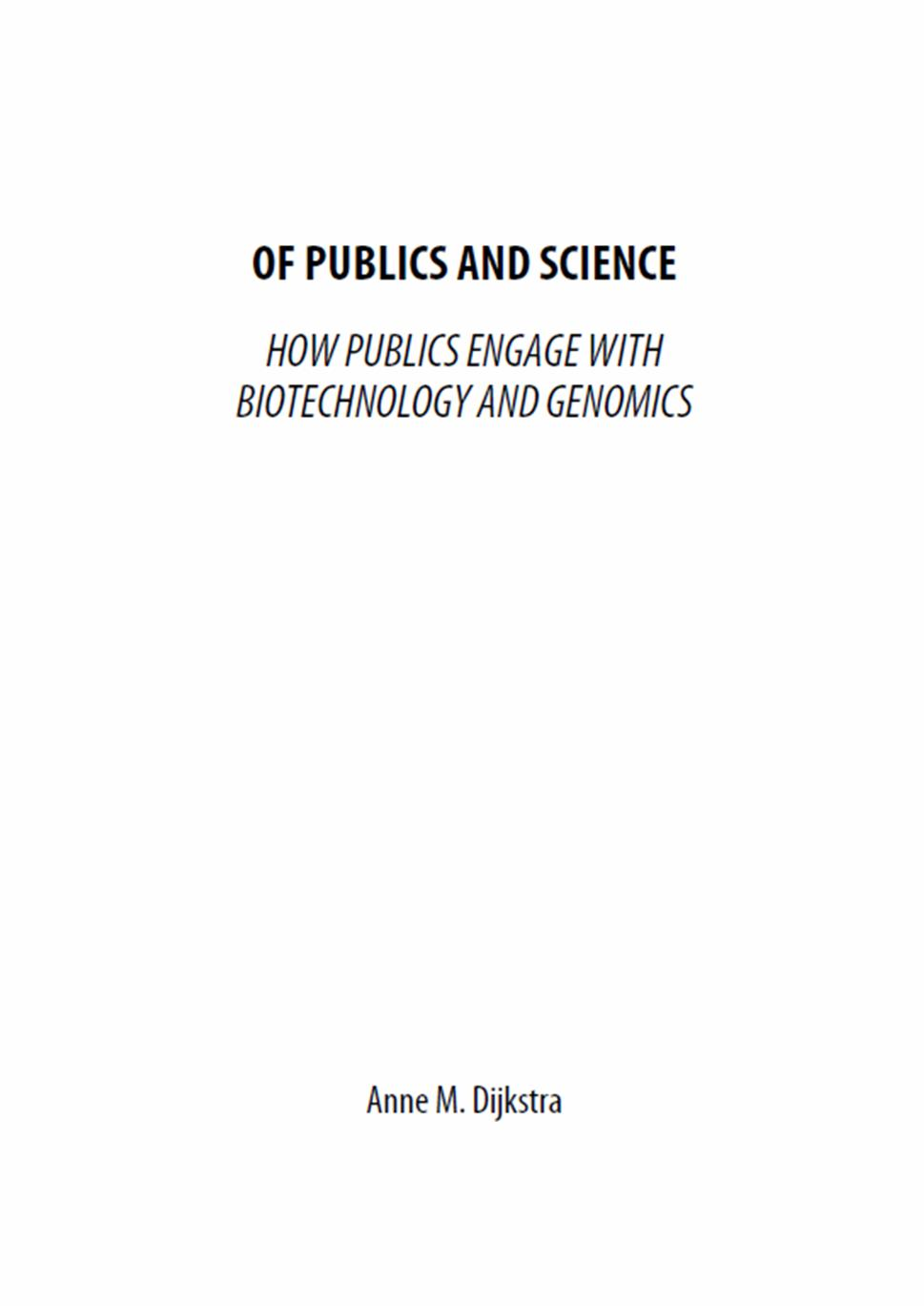 Thesis on biotechnology phd